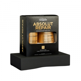 KIT L'ORÉAL PROFESSIONNEL SERIE EXPERT LIMITED EDITION ABSOLUT REPAIR GOLD QUINOA + PROTEIN TRATAMENTO (2 Produtos)