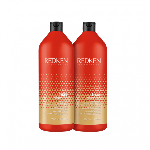 KIT REDKEN FRIZZ DISMISS SHAMPOO 1L CONDICIONADOR 1L