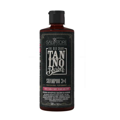 SALVATORE TANINO BARBER SHAMPOO 3 IN 1 500 ML