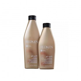 KIT REDKEN ALL SOFT SHAMPOO 300ML E CONDICIONADOR 250ML